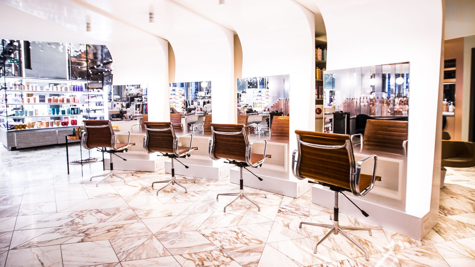 Harvey nichols hair salon james bushell hairdressers for Hair salon birmingham