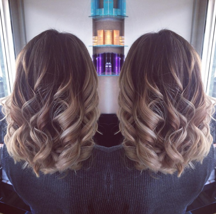 how to ask hairdresser for balayage